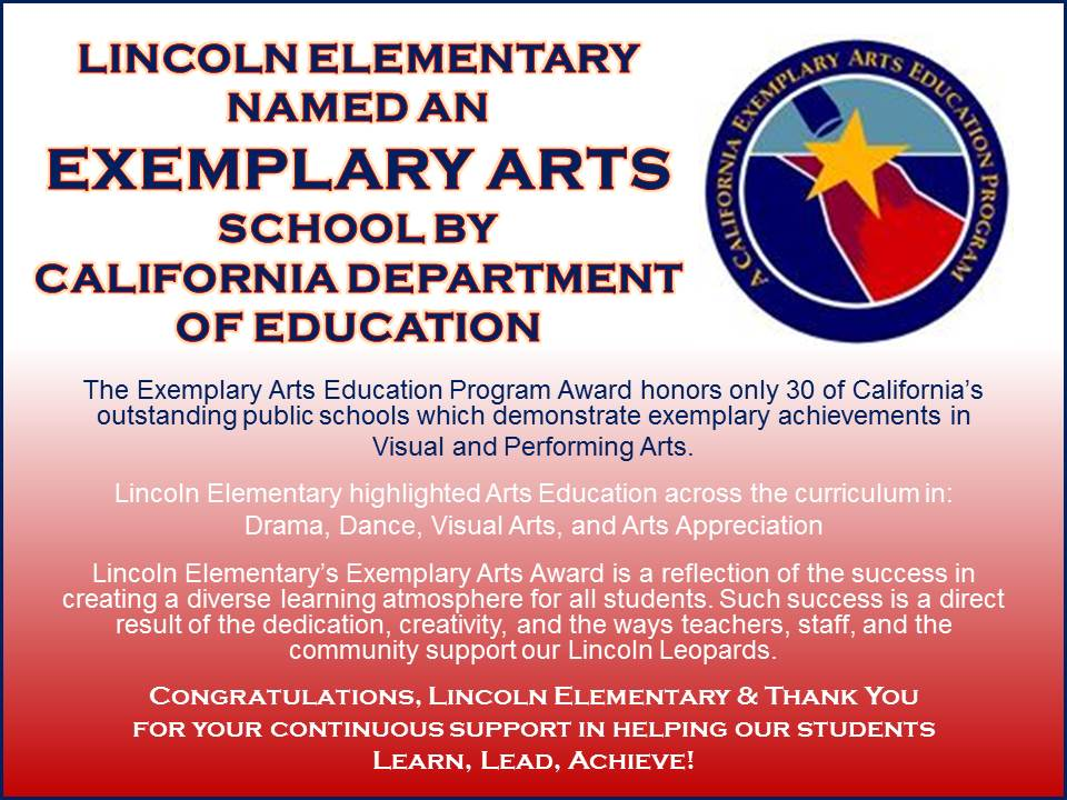 Exemplary Arts Flyer
